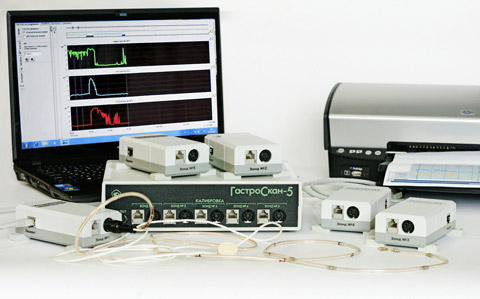 Gastroskan-5M computer-assisted stationary acidogastrometer