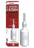 Одноразовая клизма Энема Клин - раствор натриевых солей фосфорных кислот