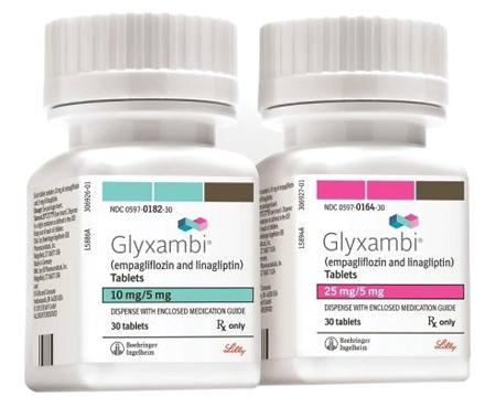 """Glyxambi — комплексный препарат с действующим веществом """"эмпаглифлозин + линаглиптин"""""""
