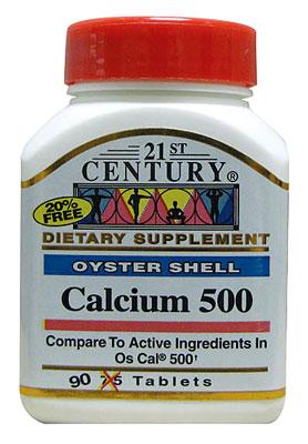Пищевая добавка с карбонатом кальция