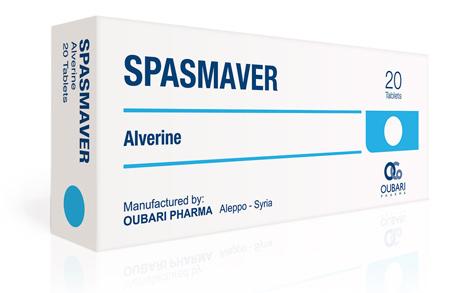 Spasmaver (альверин) сирийского производства