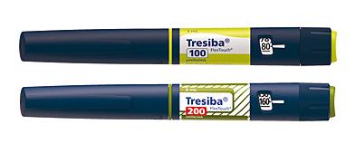Ручки-шприцы Tresiba с инсулином деглуюдек