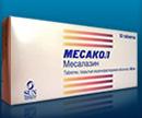 месалазин (месакол)