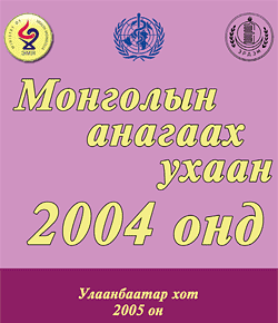 Mongolian medical sciences in 2004